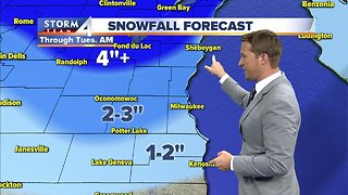 Light rain/snow throughout the day