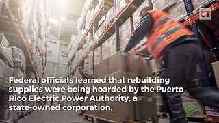 "Raid on Warehouse in PR Turns Up ""Hoarded"" Relief Supplies - Video"