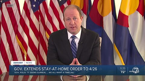 Gov. Jared Polis extends Colorado's stay-at-home order until April 26