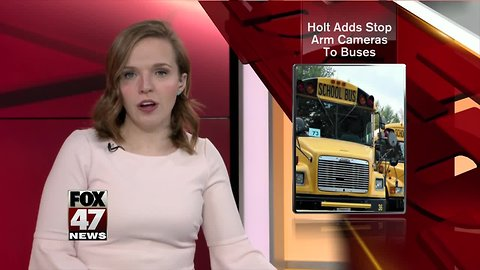 Holt adds stop arm cameras to buses
