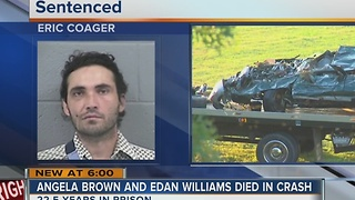 Collinsville man sentenced in deadly crash - Video
