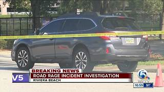 Shot fired in I-95 Palm Beach County road-rage incident - Video