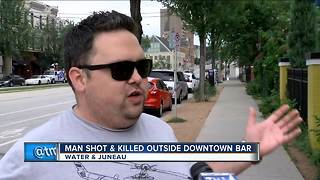 Tourist stood right next to victim during Water Street shooting - Video