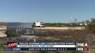 Lee Health nursing unit construction underway - Video