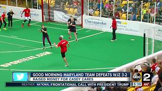 ABC2 defeats Channel 13  in charity soccer game - Video