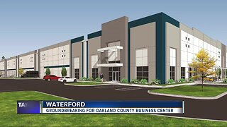 Groundbreaking for Oakland County Business Center
