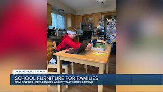 Novi District helps families adjust to at-home learning