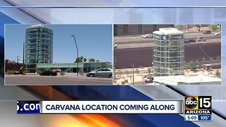 Carvana opening Loop 202/Scottsdale location soon - Video