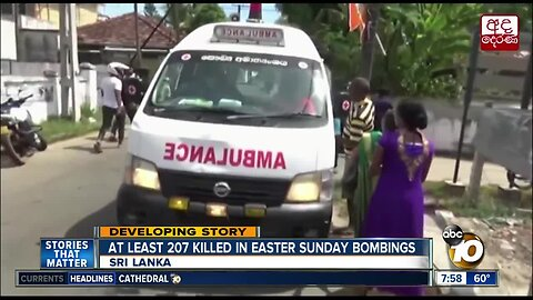 At lease 207 killed in easter Sunday bombing