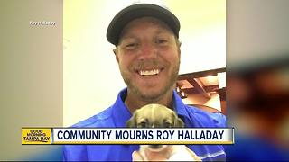 Community remembers former Major League Baseball pitcher Roy Halladay killed in plane crash