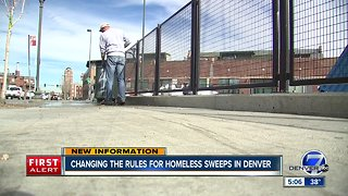 Tentative agreement reached in class action lawsuit against Denver over homeless sweeps