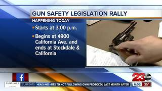 Gun Safety Rally in Bakersfield - Video
