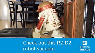 Check out this homemade R2-D2 robot vacuum