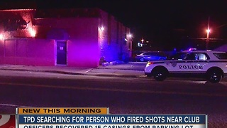Tulsa Police investigating overnight gun shots near nightclub - Video