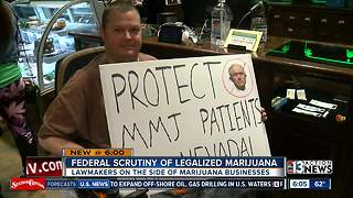 Nevada marijuana industry reacts to possible federal crackdown - Video