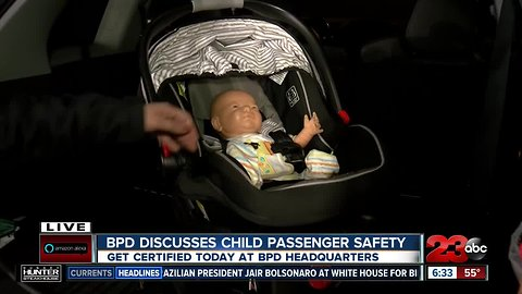 Child car seat safety tips