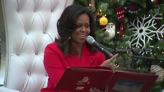 Former first lady Michelle Obama visits Children's Hospital Colorado