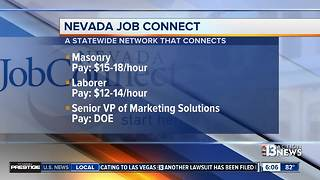 Nevada Job Connect listings for Oct. 9 - Video