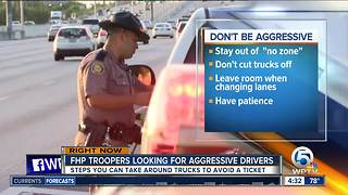 Florida Highway Patrol cracking down on aggressive drivers - Video