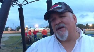 Indiana State Fair balloon pilot disappointed in race's cancellation - Video