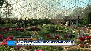 Study recommends tearing down Mitchell Park Domes