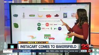 Instacart Launches in Bakersfield Today