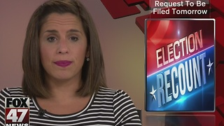 Recount request to be filed today - Video