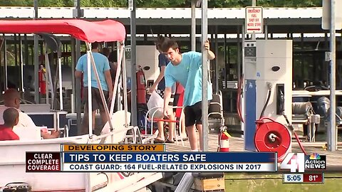 How to safely fuel your boat
