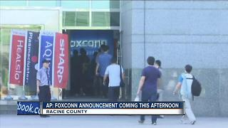 Many Racine County residents optimistic about Foxconn potential - Video