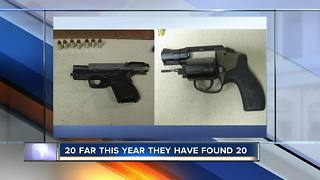 TSA finds another loaded gun at Boise Airport