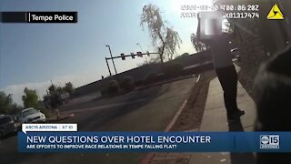 New questions over hotel encounter with Tempe police