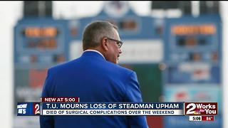 T.U. mourns loss of Steadman Upham - Video