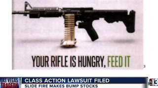 Class action lawsuit filed on behalf of Las Vegas shooting victims against bump stock manufacturer Slide Fire - Video