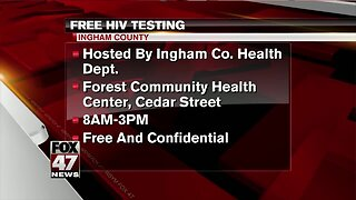Free testing offered on 'National HIV Testing Day'