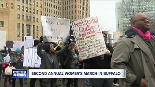 Women's March in Buffalo - Video