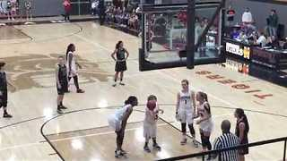 Special Needs Basketball Player Shoots, Makes Crowd Go Wild - Video