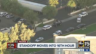 Suspect in custody after barricade situation that lasted all day Tuesday - Video