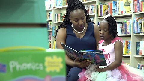 Young author creates children's book in honor of sister
