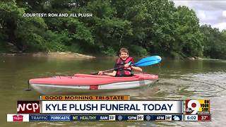 Family, friends will remember Kyle Plush at his funeral today - Video