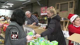 Hundreds of seniors receive gifts for Christmas