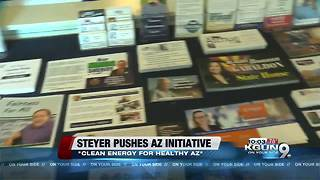 Picketers gather to rally against Tom Steyer - Video