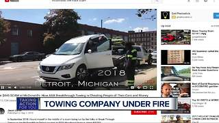 Towing company under fire