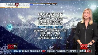 Tracking a winter storm bringing rain and snow