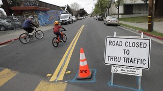 Reshaped By Pandemic, Cities Claim Streets For More Than Just Cars