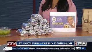 Fighting hunger with Three Square and Chipotle - Video
