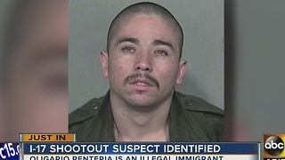 UPDATE: Police ID man accused in I-17 shooting, attempted carjacking - Video