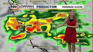 FORECAST: Cooler, less humid Monday