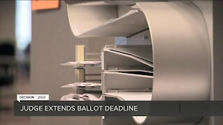 Federal judge extends deadline for Wisconsin ballots
