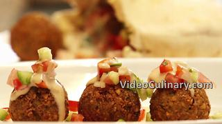 Falafel recipe: Vegan Middle Eastern street food - Video