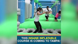 5K inflatable obstacle course coming to Tampa this weekend | Taste and See Tampa Bay